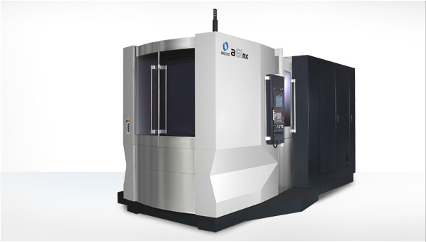 2 MAKINO A61NX HORIZONTAL MACHINING CENTERS WITH PALLET CHANGER