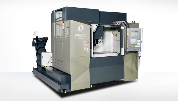 1 MAKINO PS95 VERTICAL MILL, WITH 5 AXIS TRUNNION